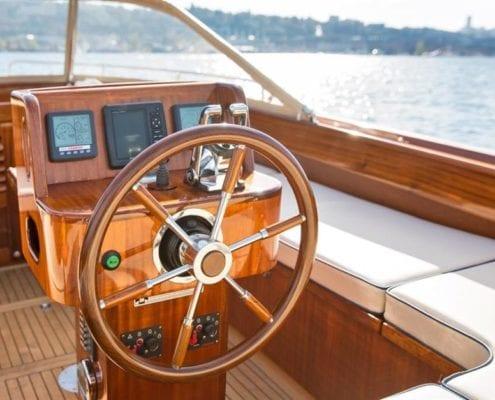 Beaver, A 29' Custom Picnic Launch Boat
